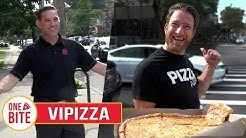 Barstool Pizza Review - VIPizza (Bayside, NY) Bonus Upside Down Slice