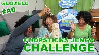 Chopsticks Jenga Challenge - GloZell