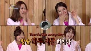 Happy Together - Suzi & Fei of Miss A, Eunji of A Pink, & Minah of Girl