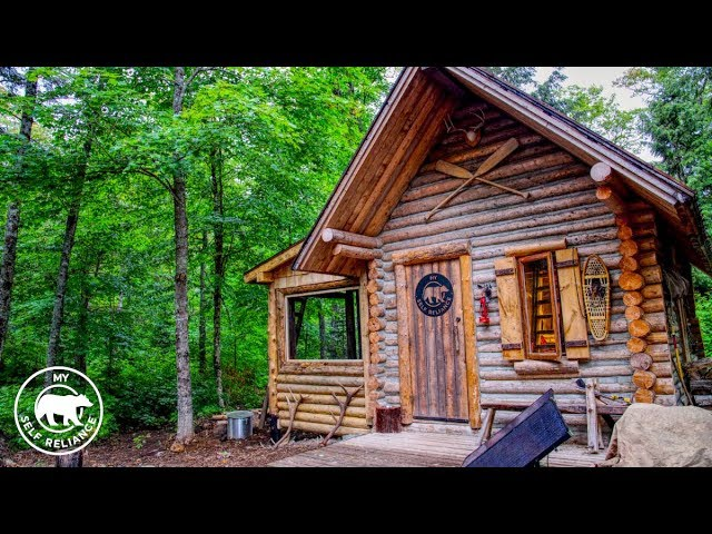 Log Cabin Porch Build Using Hand Tools and an Alaskan Chainsaw Mill
