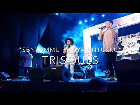 Download lagu Trisouls - Senyummu Hanya Untukku (LIVE) @Jazz Traffic Festival Surabaya 2017 Mp3 online