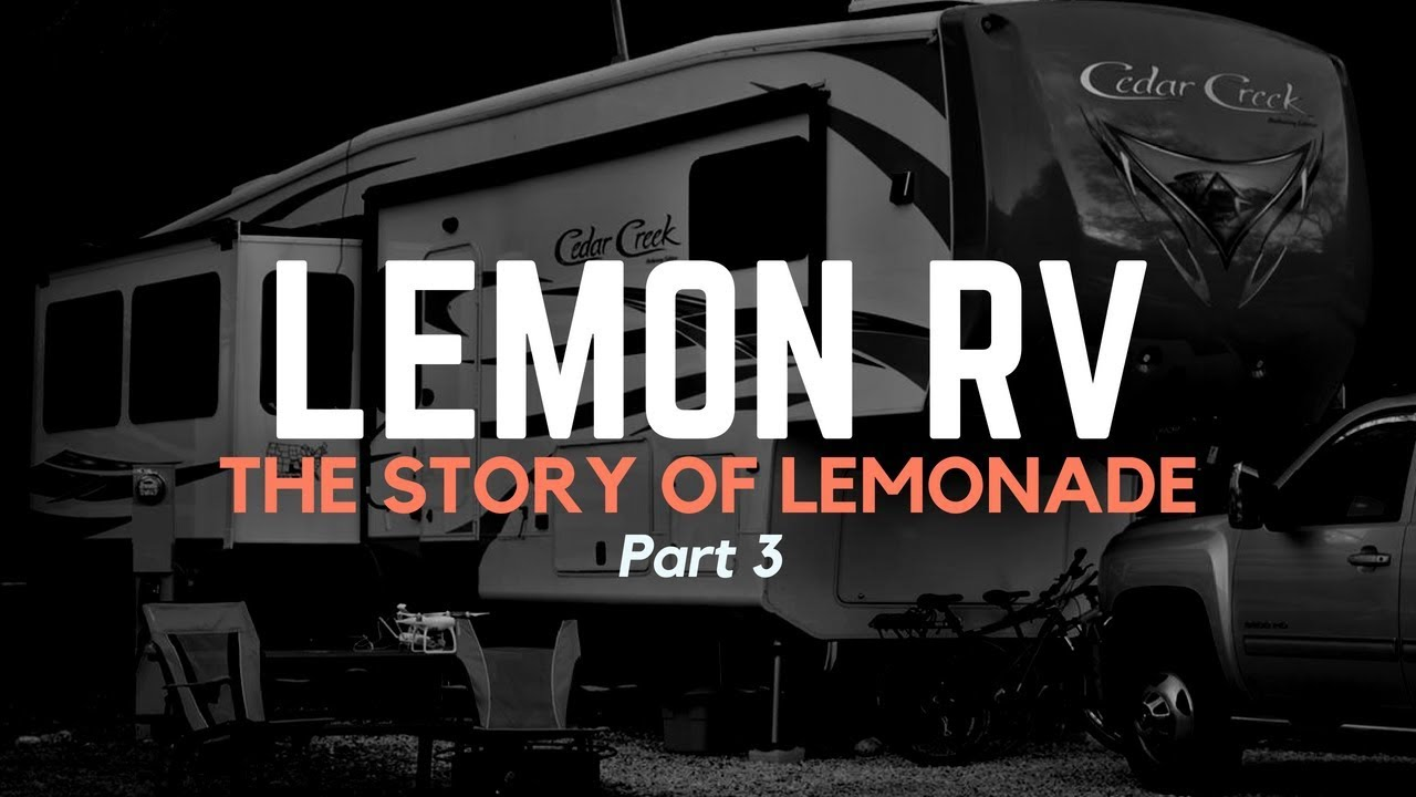 Our Lemon RV 5th Wheel | Hebard's Travels