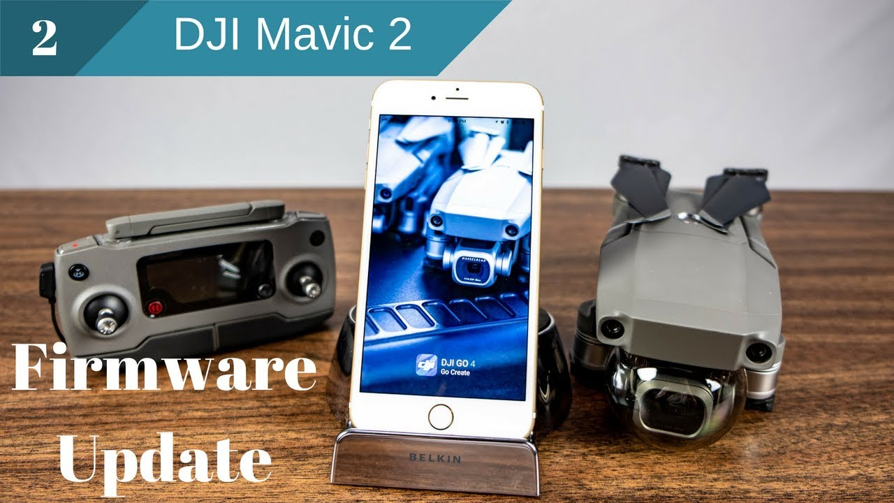 how to install firmware update mavic pro