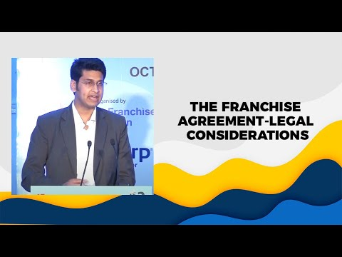 The Franchise Agreement-Legal Considerations