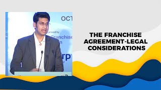 The Franchise Agreement-Legal