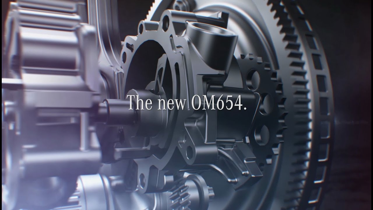 OM 654: The future of the diesel engine at Mercedes-Benz