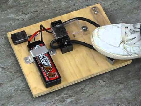 Lipo Battery Powered Spot Welder Youtube