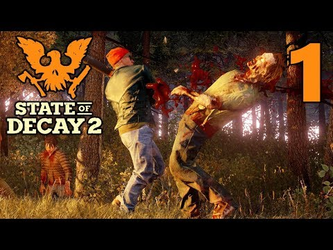 [1] Plague Zombie Panic!!! (State Of Decay 2 Multiplayer Gameplay)