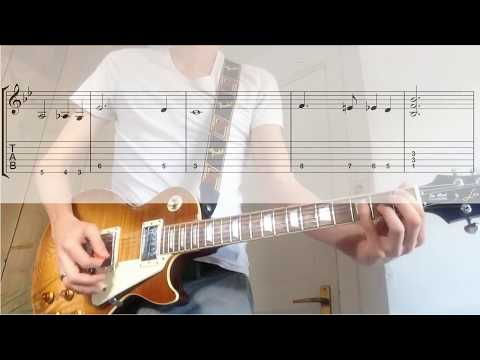 Queen - Bohemian Rhapsody [TABS in video guitar cover]