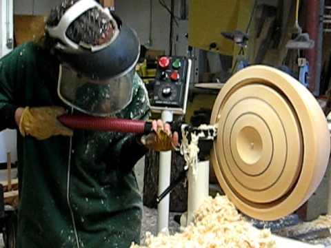 youtube woodturning bowl