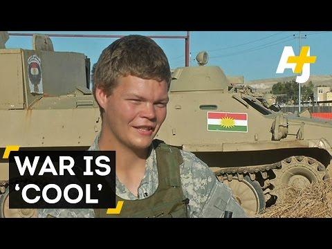 American Volunteer Fighting ISIS