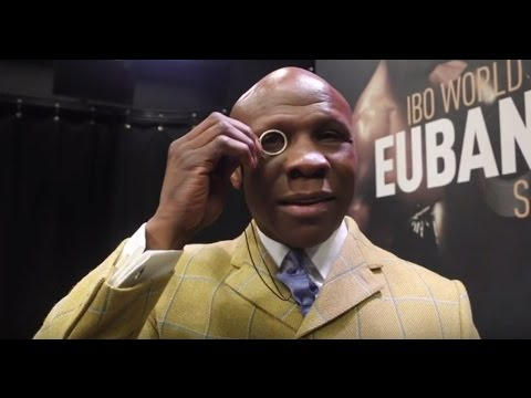 CHRIS EUBANK SNR ON EDDIE / BARRY HEARN, WHY HIS SON BEATS A