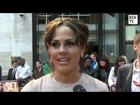 Lenora Crichlow Interview Fast Girls World Premiere