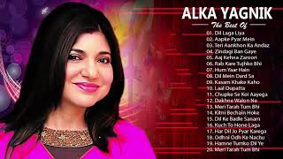 ALKA YAGNIK Hit SOngs | Best Of Alka Yagnik - Latest Bollywood Hindi Songs / Golden Hits