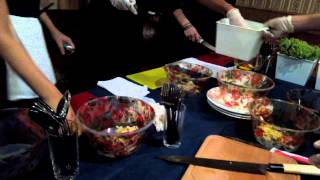 Вкусный салат под водочку)))