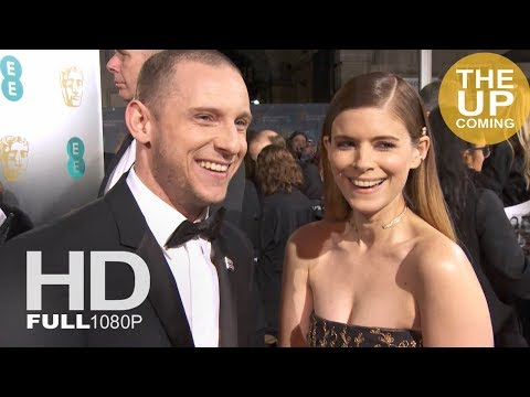 Jamie Bell and Kate Mara  on Time's Up and BAFTAs for Film Stars Don't Die in Liverpool