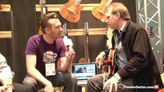 NAMM '14 - Godin Montreal Premier Triple Play, P-90, and Deluxe Demos
