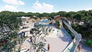 Camping Saint Emilion Nouveauté 2018 espace aquatique
