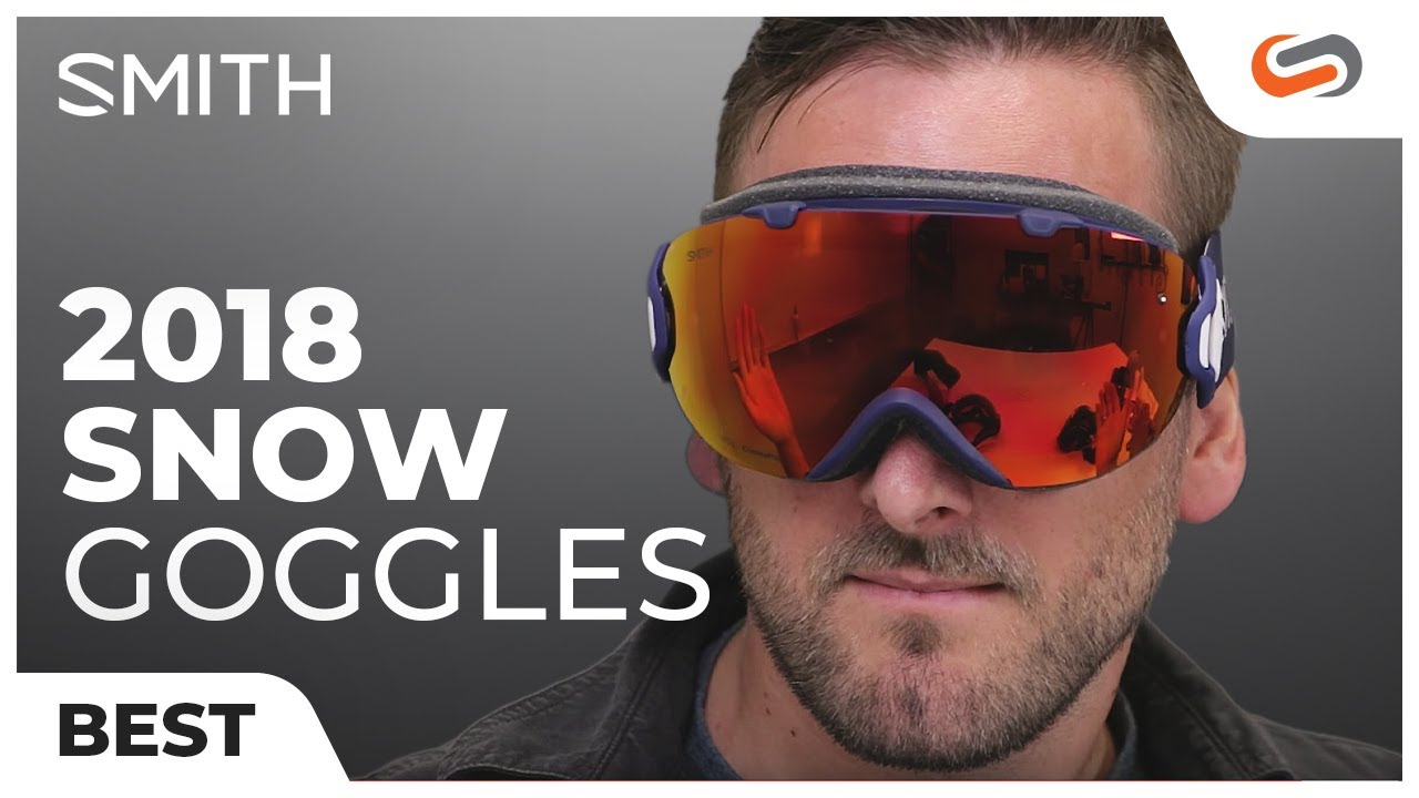 9811a02a7ec2 Best SMITH Snow Goggles 2017-2018 - YouTube