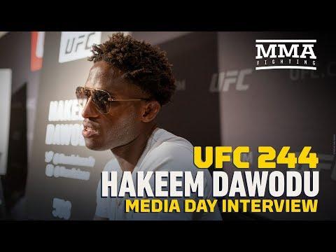 UFC 244: Hakeem Dawodu Believes 2020 Will Be Breakout Year - MMA Fighting