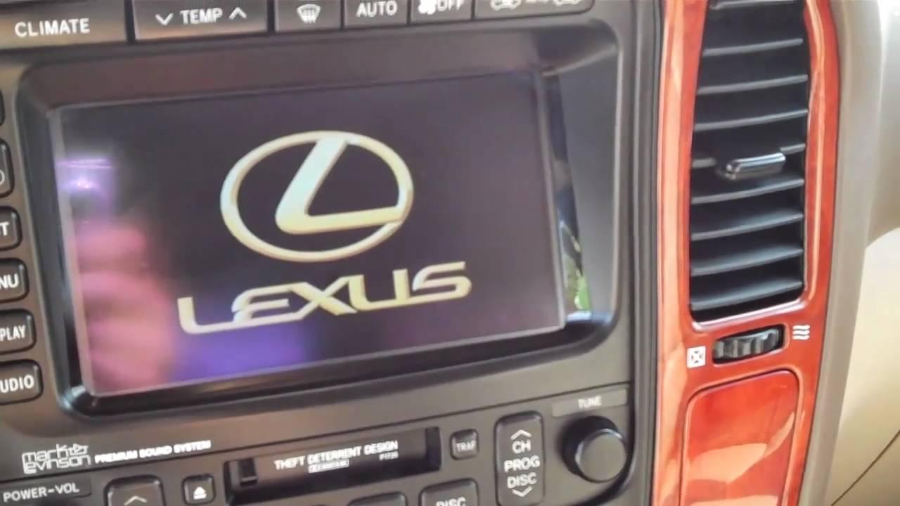 2002 Lexus LX 470 4x4, Navigation, Loaded SN-17651 - YouTube