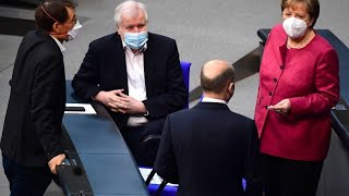 Merkel mit Astrazeneca gegen Coronavirus geimpft