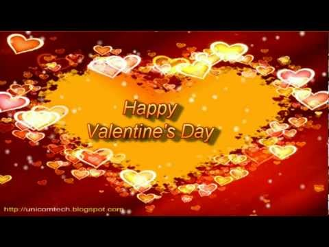 Happy Valentine S Day Video Greetings Card E Card Youtube