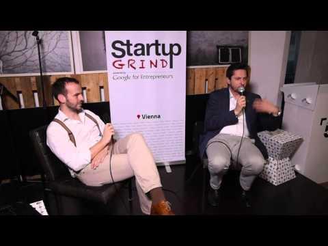 Damian Izdebski (TechBold, DiTech) at Startup Grind Vienna