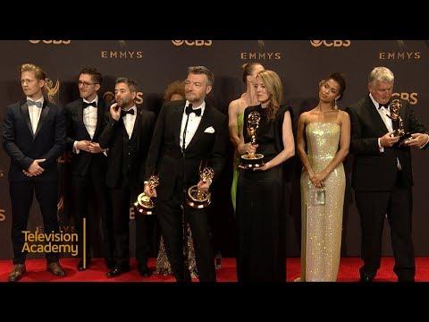 Download Youtube: 69th Emmys: Black Mirror: San Junipero Press Room Interview