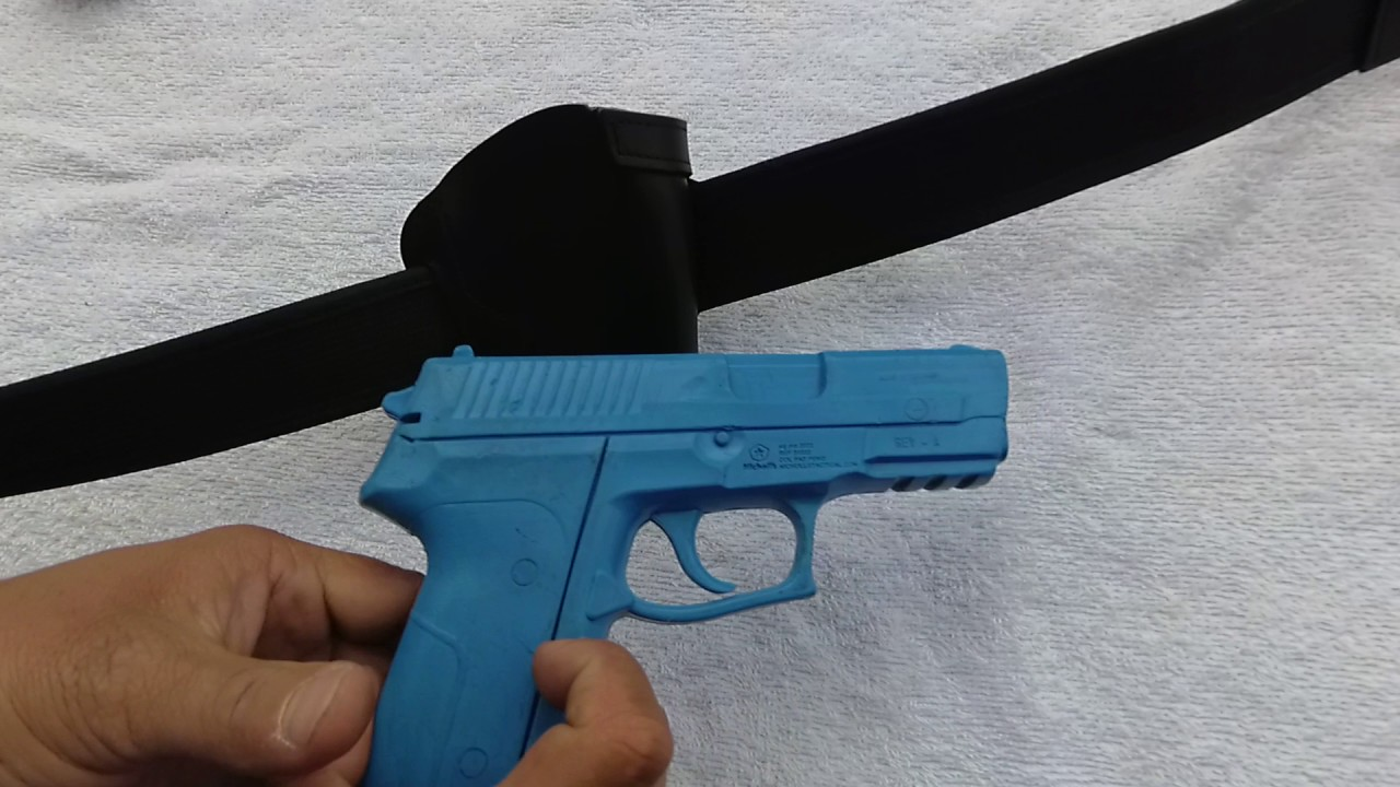 Funda Estándar Para Pistola 9mm Youtube