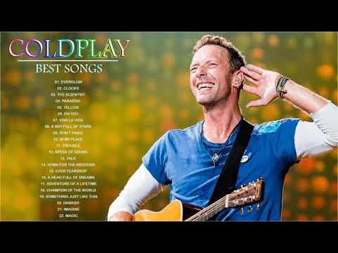 Coldplay Greatest Hits Playlist Álbum completo Melhores músicas do Coldplay - Musicas Internacionais
