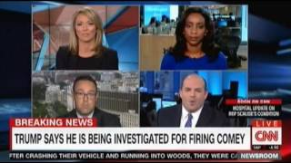CNN Panel discussion Trump says he is being investigated for firing Comey