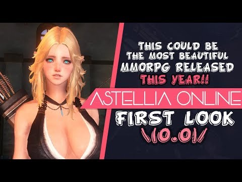 This Could Be The Most Beautiful MMORPG Released This Year! - Astellia First Look Impressions!