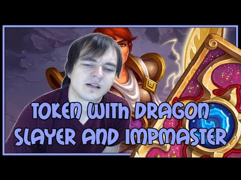 Hearthstone: Token shaman with dragonslayer and impmaster