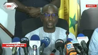 Direct - Point de presse du Directeur Général de Dakar Dem Dikk, M.Omar Bounkhatab SYLLA