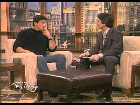 Sylvester Stallone on the Tony Danza Show