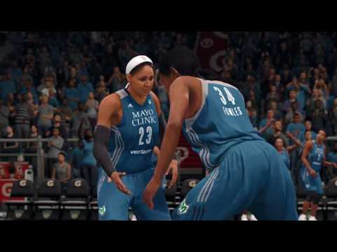 WNBA to Make Video Game Debut in NBA LIVE 18!