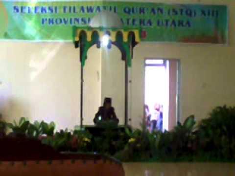 Adnan Tumanggor   STQ SUMUT 2013