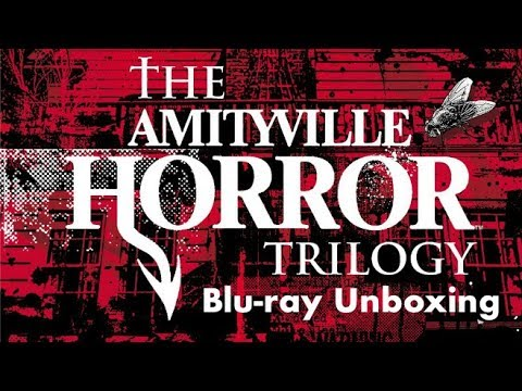 THE AMITYVILLE HORROR TRILOGY BLU-RAY UNBOXING!