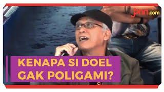 Iwan fals Sempat Sarankan Si Doel Poligami - JPNN.com