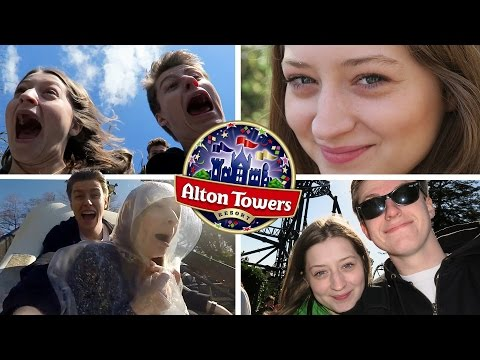 Our Day at Alton Towers Theme Park