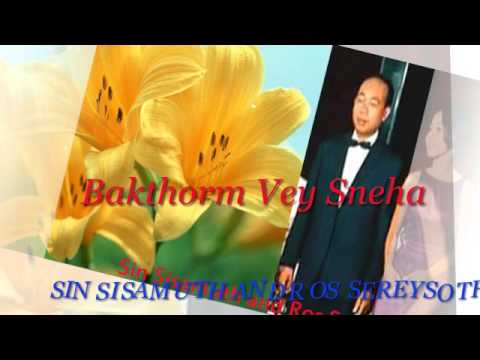 Sinsisamuth and Rossereysothea - Khmer Old Song - Bakthorm Vey Sneha - Cambodia Music MP3