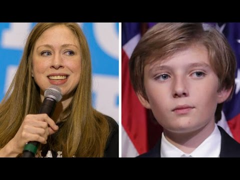 SICK! WHAT CHELSEA CLINTON JUST USED BARRON TRUMP FOR WILL MAKE YOU PUKE!