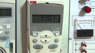 How To Set Up ABB ACS355 AC Drive With A Standard Control Pad(How to do basic start-up on the ABB ACS355 AC Drive with the basic control keypad. Buy ABB ACS355 AC Drives and accessories at 800-337-1720 or go to ..., 2013-03-15T14:33:53.000Z)