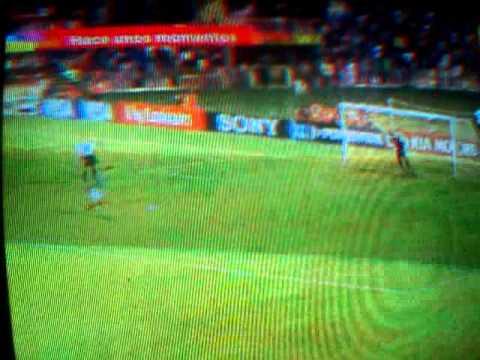 M�xico vs brasil gol ganador