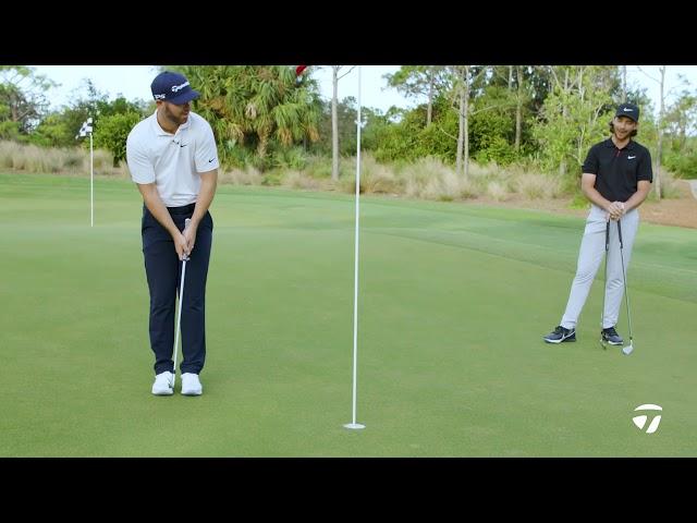 Matthew Wolff VS. Tommy Fleetwood 2-Club Challenge | TaylorMade Golf