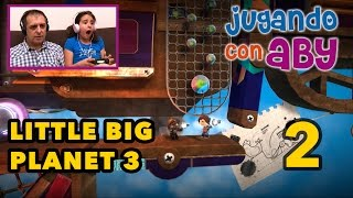 LittleBigPlanet 3 - Gameplay #02 - Aeronave de Newton