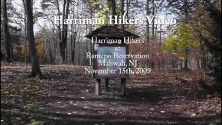 Harriman Hikers Ramapo Reservation, NJ Hike 11/15/2009