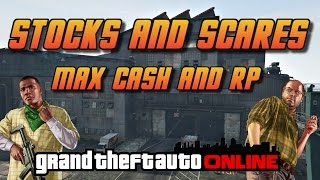 GTA Online[GTA5] Making Money Solo - Stocks and Scares - Best Way For Max Cash and RP