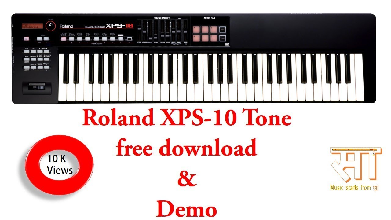 Roland XPS 10 tone free download by Music For us